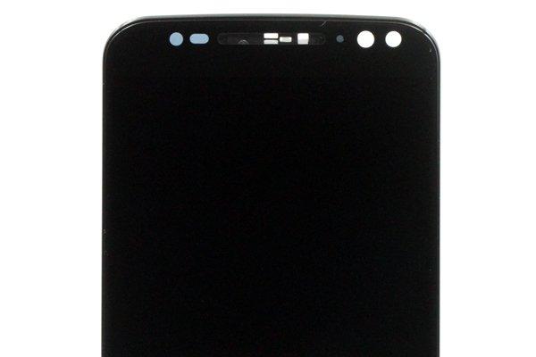 Motorola Moto X Style (XT1572) フロントパネルASSY 交換修理 ブラック [3]