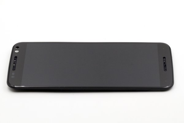 Motorola Moto X Style (XT1572) フロントパネルASSY 交換修理 ブラック [5]