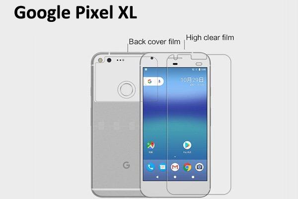 【ネコポス送料無料】Google Pixel XL 液晶保護フィルムセット クリスタルクリアタイプ  [1]