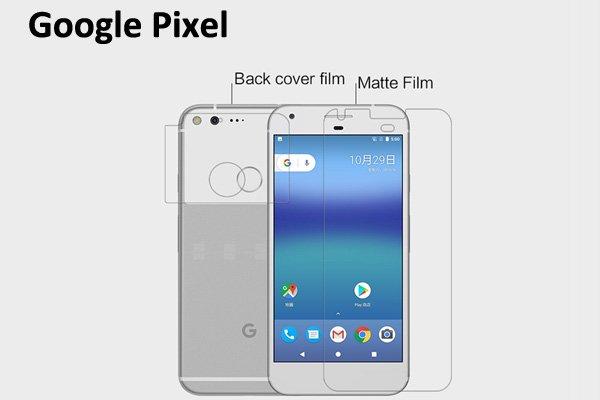 【ネコポス送料無料】Google Pixel 液晶保護フィルムセット アンチグレアタイプ