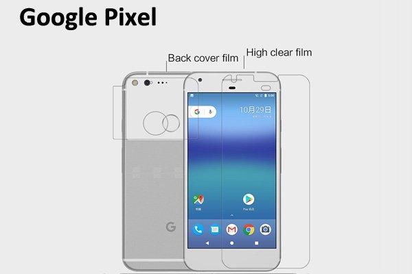 【ネコポス送料無料】Google Pixel 液晶保護フィルムセット クリスタルクリアタイプ  [1]