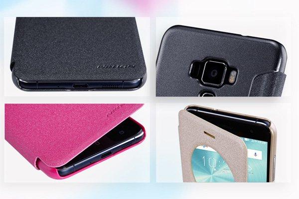 【ネコポス送料無料】Zenfone3 (ZE520KL) スパークルレザーケース 全4色 [8]