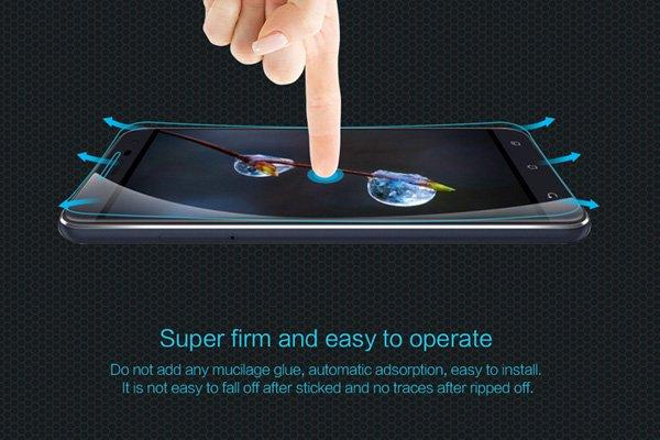 【ネコポス送料無料】Zenfone3 (ZE520KL) 強化ガラスフィルム ナノコーティング 硬度9H [5]