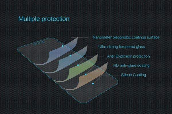 【ネコポス送料無料】Zenfone3 (ZE520KL) 強化ガラスフィルム ナノコーティング 硬度9H [6]