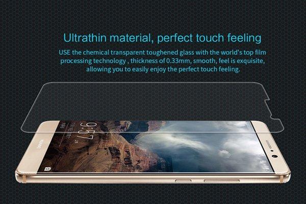 【ネコポス送料無料】Huawei Mate9 強化ガラスフィルム ナノコーティング 硬度9H  [3]
