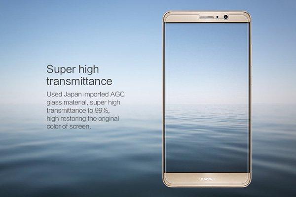 【ネコポス送料無料】Huawei Mate9 強化ガラスフィルム ナノコーティング 硬度9H  [4]