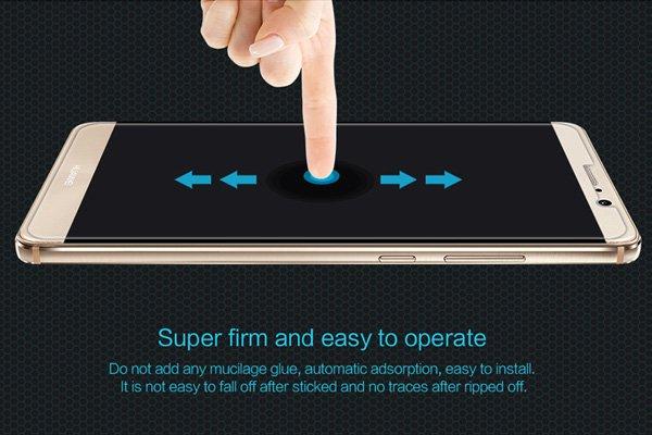 【ネコポス送料無料】Huawei Mate9 強化ガラスフィルム ナノコーティング 硬度9H  [6]