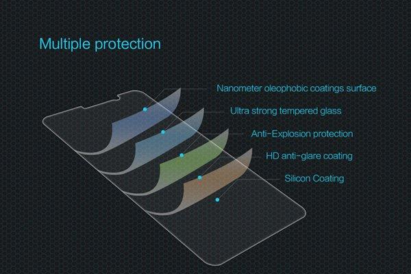 【ネコポス送料無料】Huawei Mate9 強化ガラスフィルム ナノコーティング 硬度9H  [7]