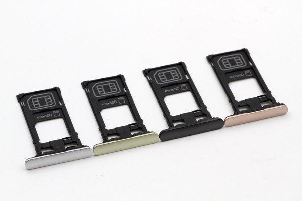 【ネコポス送料無料】Xperia X Performance(SO-04H SOV33 F8131)SIMカードトレイ 全4色