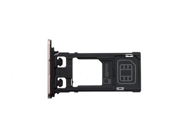【ネコポス送料無料】Xperia X Performance(SO-04H SOV33 F8131)SIMカードトレイ 全4色 [10]