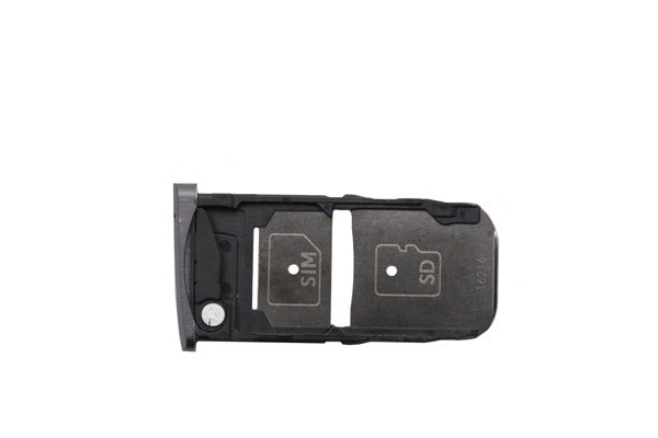 【ネコポス送料無料】Motorola Moto Z (XT1650-03)SIMカードトレイ ブラック [1]