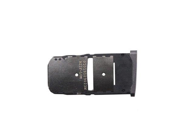 【ネコポス送料無料】Motorola Moto Z (XT1650-03)SIMカードトレイ ブラック [2]