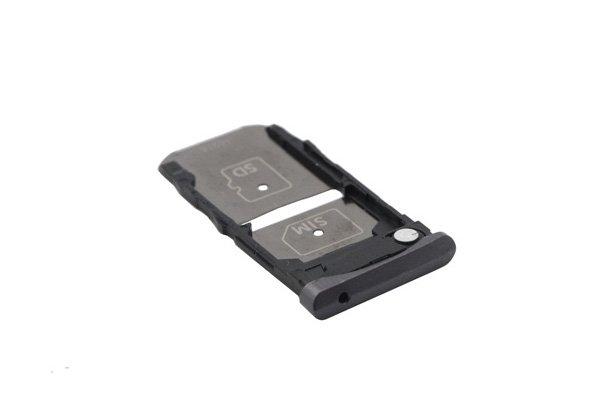【ネコポス送料無料】Motorola Moto Z (XT1650-03)SIMカードトレイ ブラック [3]