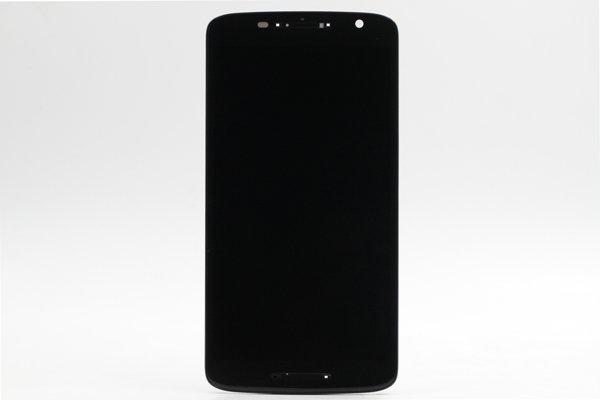 Moto X Play (XT1562) フロントパネルASSY ブラック [1]