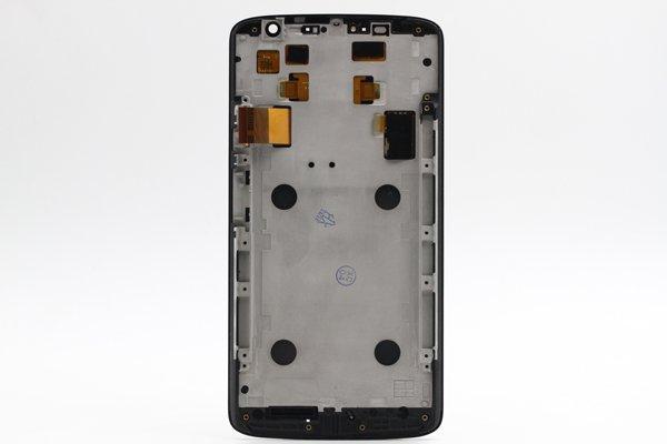 Moto X Play (XT1562) フロントパネルASSY ブラック [2]