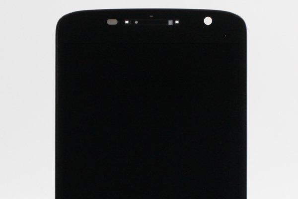 Moto X Play (XT1562) フロントパネルASSY ブラック [3]