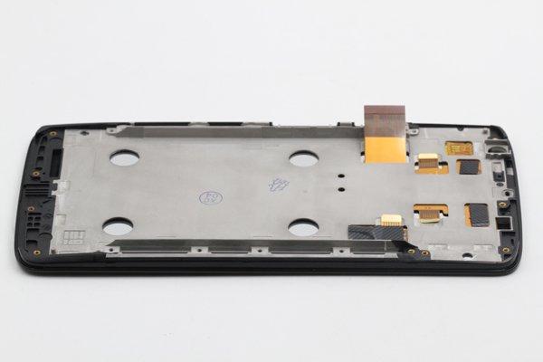 Moto X Play (XT1562) フロントパネルASSY ブラック [5]