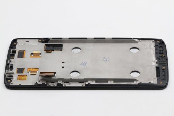 Moto X Play (XT1562) フロントパネルASSY ブラック [6]