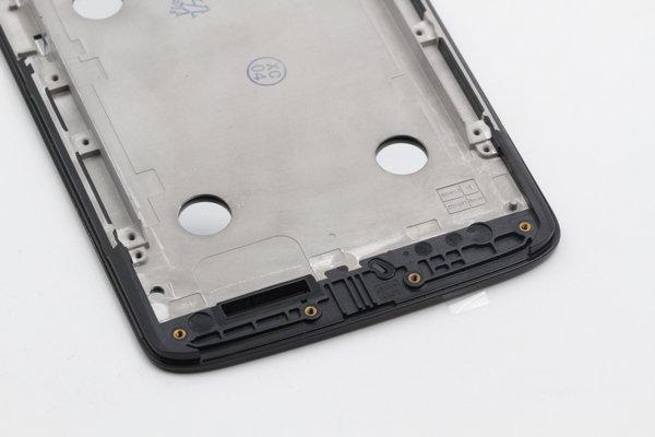 Moto X Play (XT1562) フロントパネルASSY ブラック [7]