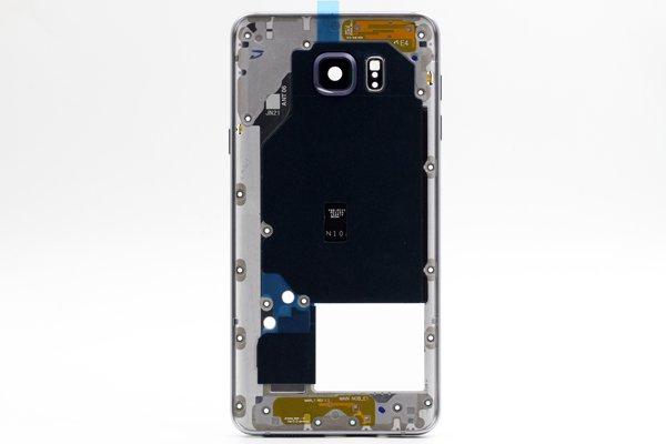【ネコポス送料無料】Galaxy Note5 (SM-N920) ミドルケースASSY シルバー [1]