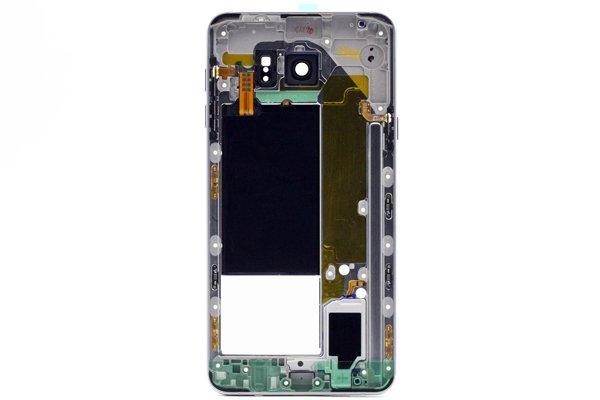 【ネコポス送料無料】Galaxy Note5 (SM-N920) ミドルケースASSY シルバー [2]
