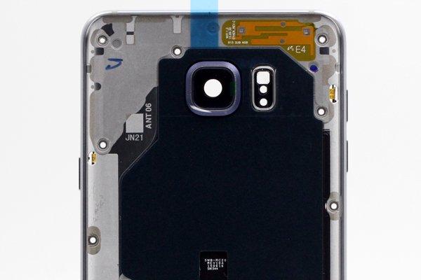 【ネコポス送料無料】Galaxy Note5 (SM-N920) ミドルケースASSY シルバー [3]