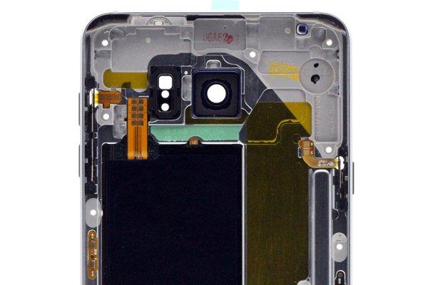 【ネコポス送料無料】Galaxy Note5 (SM-N920) ミドルケースASSY シルバー [4]