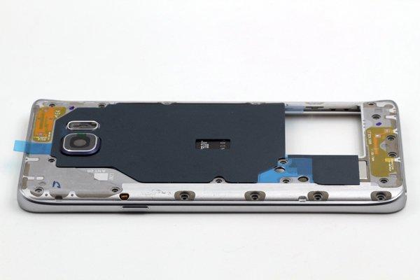 【ネコポス送料無料】Galaxy Note5 (SM-N920) ミドルケースASSY シルバー [5]