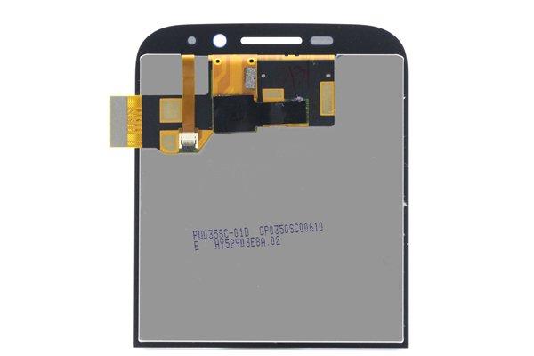 Blackberry Classic (Q20) フロントパネル交換修理 ブルー [2]