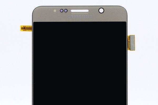 Galaxy Note5 (SM-N9200) フロントパネル ゴールド [3]