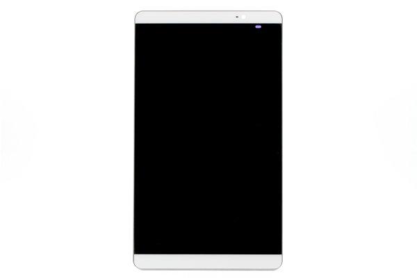 Huawei MediaPad M2-803L(dtab Compact d-02H)フロントパネルASSY 交換修理 ホワイト [1]