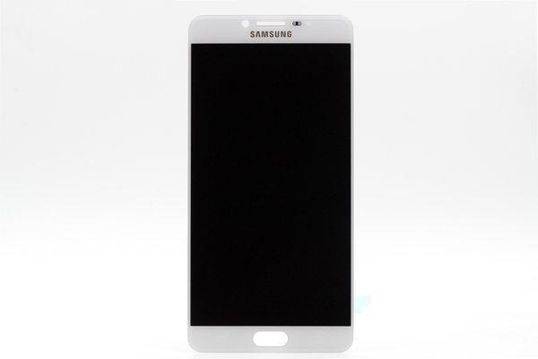 Galaxy C9 Pro フロントパネル ホワイト [1]