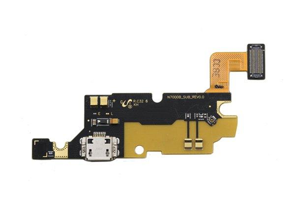 【ネコポス送料無料】Galaxy Note(GT-N7000)マイクロUSBコネクターボードASSY [1]