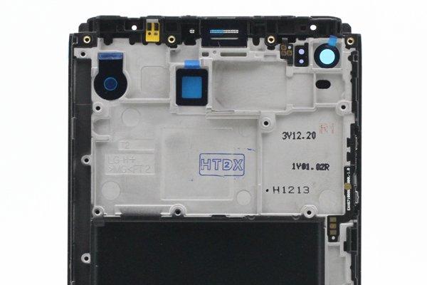 LG V20(F-800L)フロントパネルASSY 交換修理 [4]