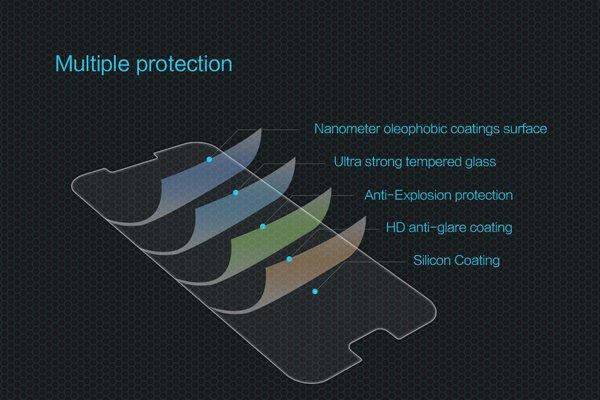 【ネコポス送料無料】Galaxy A7 (SM-A700) 強化ガラスフィルム ナノコーティング 硬度9H  [6]