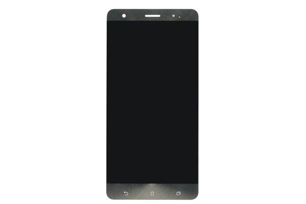 Zenfone3 Deluxe(ZS570KL)フロントパネル 交換修理 ゴールド [1]