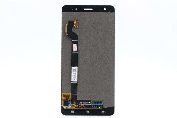 Zenfone3 Deluxe(ZS570KL)フロントパネル 交換修理 ゴールド [2]