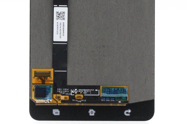 Zenfone3 Deluxe(ZS570KL)フロントパネル 交換修理 ゴールド [3]