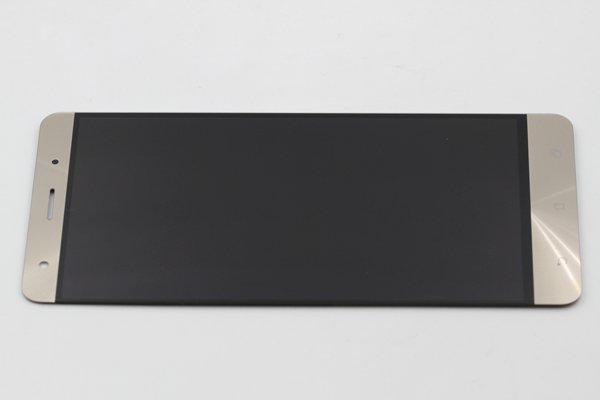 Zenfone3 Deluxe(ZS570KL)フロントパネル 交換修理 ゴールド [6]