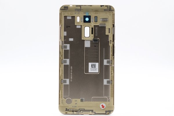 【ネコポス送料無料】ZenFone 3 Laser(ZC551KL)バックカバー 全3色 [4]
