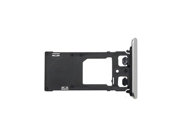 【ネコポス送料無料】Xperia XZ Dual SIMカードトレイ 全4色 [4]