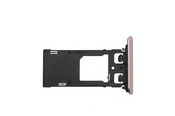 【ネコポス送料無料】Xperia XZ Dual SIMカードトレイ 全4色 [6]