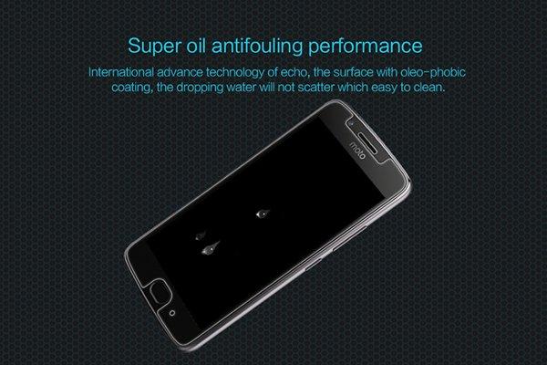 【ネコポス送料無料】MOTOROLA Moto G5 強化ガラスフィルム ナノコーティング 硬度9H [4]