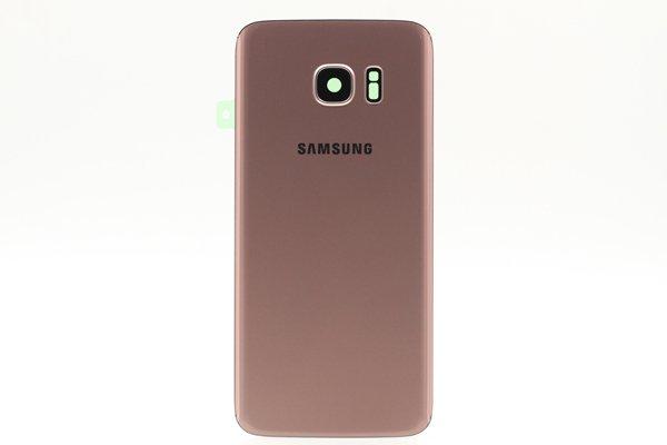 【ネコポス送料無料】Galaxy S7 Edge (SM-G935) 背面カバー  全5色 [9]