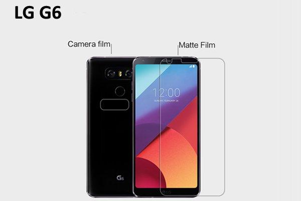 【ネコポス送料無料】LG G6 液晶保護フィルムセット アンチグレアタイプ  [1]