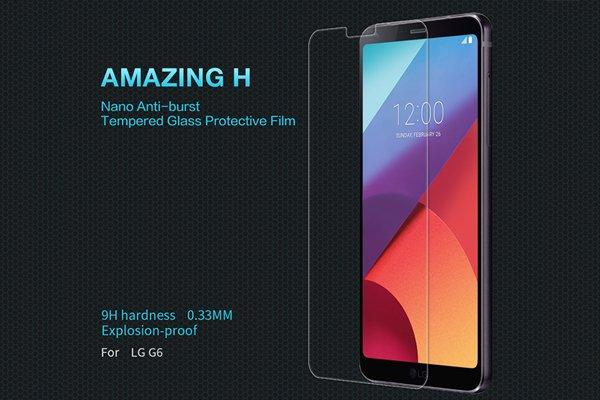 【ネコポス送料無料】LG G6 強化ガラス...