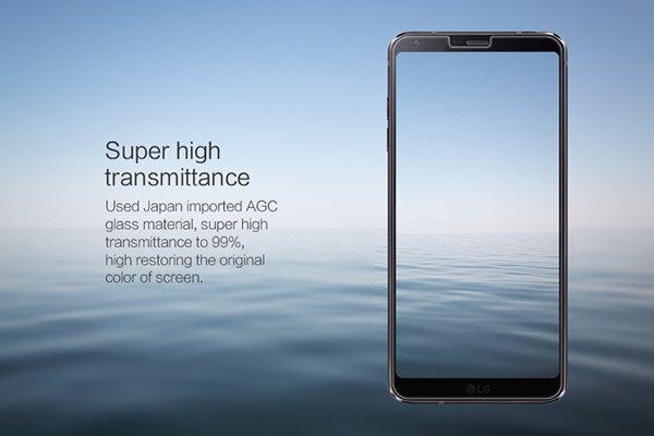 【ネコポス送料無料】LG G6 強化ガラスフィルム ナノコーティング 硬度9H  [3]