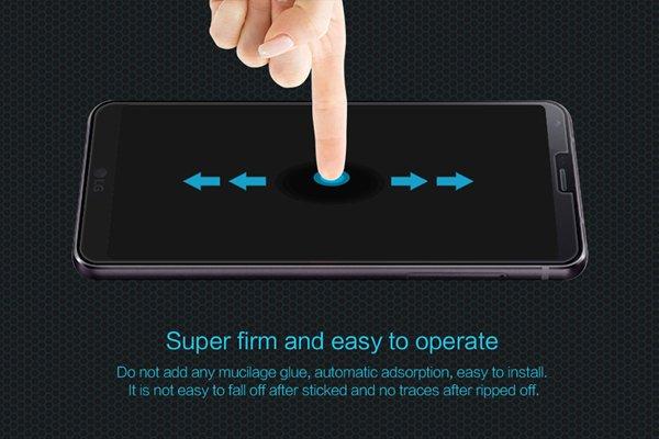 【ネコポス送料無料】LG G6 強化ガラスフィルム ナノコーティング 硬度9H  [5]