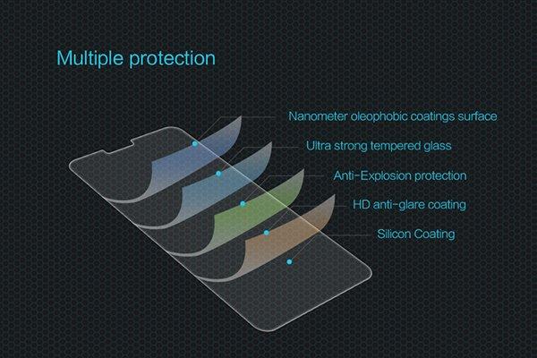 【ネコポス送料無料】LG G6 強化ガラスフィルム ナノコーティング 硬度9H  [6]