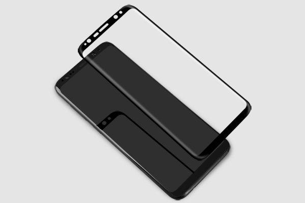 【ネコポス送料無料】Galaxy S8 強化ガラスフィルム ナノコーティング 硬度9H [2]